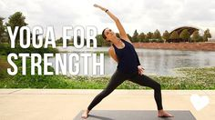 Yoga For Strength! Join Adriene for a 40 Minute Vinyasa Flow Yoga. This practice cultivates heat, trims, tones, builds strength and flexibility. Adriene work...