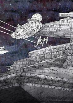 Millenium Falcon.