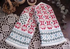 Fair Isle Knitting, Hand Knitting, Knitting Patterns, Fair Isles, Knit Mittens, Knit Crochet, String Theory, Crafts, Accessories