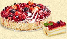 Výsledek obrázku pro destský dort s ovocem