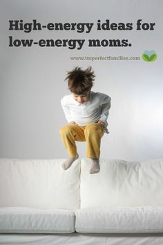 Your child needs high-energy attention from you, but you're a low-energy mom. Here are some ideas for giving your kids the attention they need!