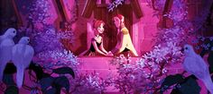 A arte conceitual de Frozen   Fairytale Land Stories