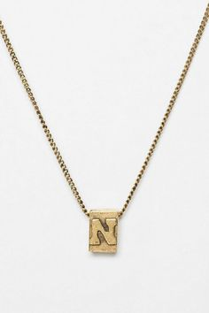Build-A-Word Necklace $10