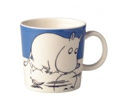 Arabia Moomin Mug Troll on ice, Moomin Mugs, Classic Dinnerware, Tove Jansson, Ceramic Shop, Marimekko, Scandinavian Home, My Collection, Finland, Pottery