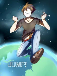 [ practice 2 ]Cryaotic - I'm jumping on the Earth by RuinLin on DeviantArt Markiplier, Pewdiepie, Smosh Games, Youtube Drawing, Cryaotic, Septiplier, Beautiful Artwork, Youtubers, Crying