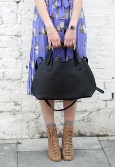 Classic Tote Shoulder Bag