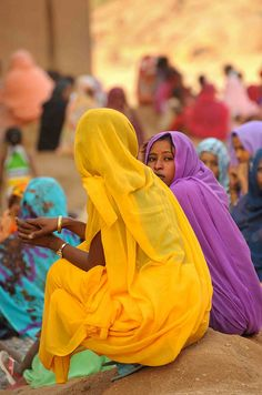 Women in mosque of Kassla for celebration of the prophet's birthday   by christophe_cerisier