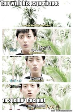 Tao's terrible pronunciation is the funniest thing ever.