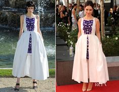 Game of Thrones actress Emilia Clarke In Chanel - 2012 Emmy Awards.  #redcarpet #Emmys