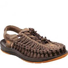 0a52d517bcb 1014980 KEEN Men's UNEEK Flat Cord Sandals - Shitake www.bootbay.com