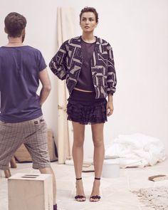 loving the leggy, sassy skirts at isabel marant resort 2014