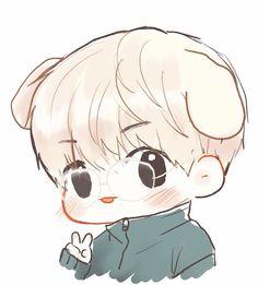 (*) Twitter Baekhyun Fanart, Chanbaek Fanart, Kpop Fanart, Bts Drawings, Kawaii Drawings, Cartoon Drawings, Exo Stickers, Children Sketch, Exo Fan Art