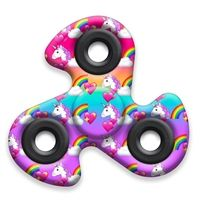 In the first months, your baby will prefer the toys he can watch and listen to the most, and the … Unicorn Fidget Spinner, Fidget Spinner Toy, Fidget Cube, Fidget Toys, Samurai, Squad, Cool Fidget Spinners, Unicorn Party, Toy Unicorn