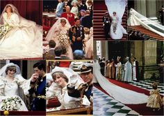 theprincessespalace:  Wedding of Charles, Prince of Wales, and Lady Diana Spencer, July 29, 1981