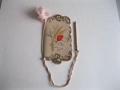 trés joli petit carnet de bal année 9 février  1898 en trés bon état
