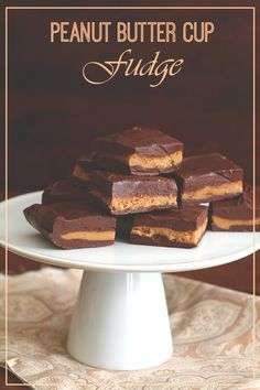So easy and delicious! Low carb chocolate fudge with a cream peanut butter center. Like eating a peanut butter cup in fudge form!