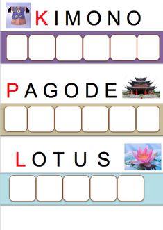 Lotus, Continents, Lily, Around The Worlds, Montessori, Kimono, China, Album, Chinese New Year