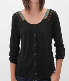 Daytrip Embroidered Shirt - Women's Shirts/Tops | Buckle