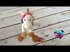 Amigurumi Licorne crochet 1/2 / Unicorn amigurumi crochet (english subtitles) - YouTube