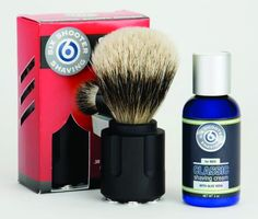 Right To Bear Arms Company - Six Shooter Shaving .38 Tactical Shave Brush, $89.00 (http://www.rtba.co/six-shooter-shaving-38-tactical-shave-brush/)