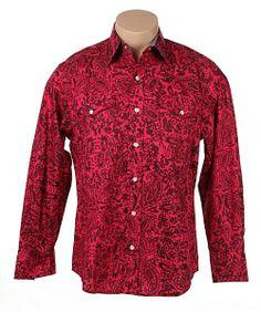 Rodeo Fuschia Classic Paisley Shirt