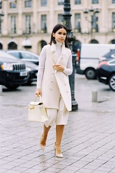 how to wear winter white like a pro