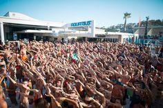Party at Aquarius Zrce.  #zrce #novalja #otokpag #inselpag #partybeach #summer #festival #zrcebeach #croatia #kroatien #hrvatska #beach #partyurlaub