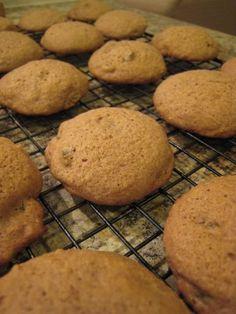 Applesauce Spice Cookies
