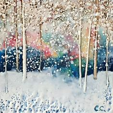 I'm With You encaustic landscape painting by Catharine Clarke Colorful Paintings, Nature Paintings, Landscape Paintings, Modern Art, Contemporary Art, Lake Painting, Quirky Decor, Cast Glass, Spring Landscape