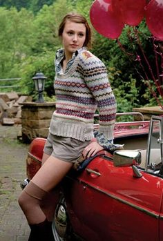 Kim Hargreaves Thrown Together Knitting Patterns | Rowan English Yarns Online Store