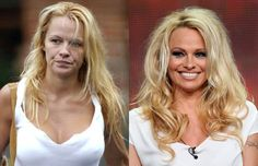 Ever wonder what the most beautiful celebrities you see on T.V look like without make up? Now you can and they look just like we do without make up! Check out this Celebrities with and without make up below! Celebrity Bodies, Celebrity Makeup, Celebrity Pictures, Celebrity News, Makeup Transformation, Actress Without Makeup, Celebs Without Makeup, Cameron Diaz Without Makeup, Beauty Hacks