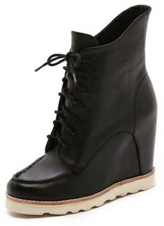 Matiko Cooper Lace Up Wedge Booties on shopstyle.com Lace Wedges 88c7d5d4fb2