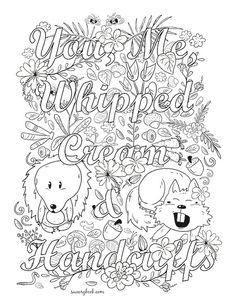 91 Best Naughty Adult Coloring Pages Images In 2019 Adult