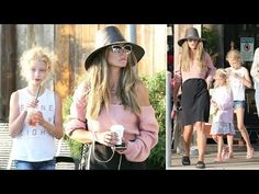 Rebecca Gayheart Treats Her Adorable Daughters To Starbucks - YouTube Rebecca Gayheart, Pink Sweater, Daughters, Starbucks, Georgia, Treats, Youtube, Pink Sweater Outfit, Sweet Like Candy