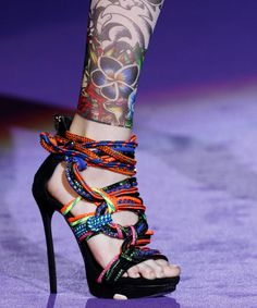 25 Covetable Shoes from #MFW - DSquared2  - from InStyle.com