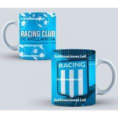 Tazas sublimadas Racing Club de Avellaneda personalizadas Sublimaciones Leli  Característica:  Racing Club de Avellaneda Excelente Calidad Irrompibles Tazas de Polimero
