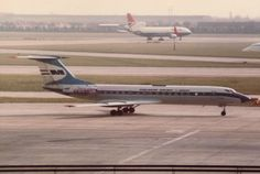 1974 Tupolev Tu-134A HA-LBO - Malev Hungarian Airlines - London Heathrow Airport 1983