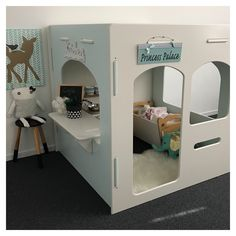 Gorgeous indoor cubby house, princess cubby house, wooden cubby house, indoor cubby, indoor playroom