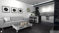 Kuchnia - Styl Nowoczesny - K&K Pracownia Projektowania Wnętrz