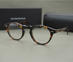 Famous Brand Oliver Peoples Eyeglasses Gregory Peck OV 5186 Oval Vintage Myopia Glasses Frame Men and Women Retro Eye glasses