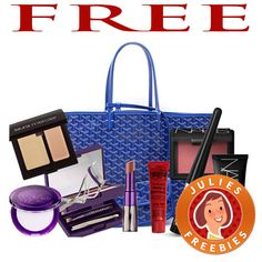 Free Tote of Beauty Products