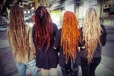Dread heads.