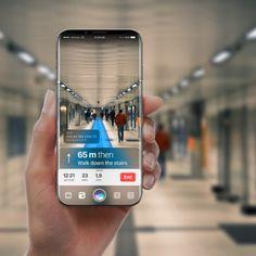 En este nuevo concepto de iPhone 8, Siri y la Realidad Aumentada son la base de iOS