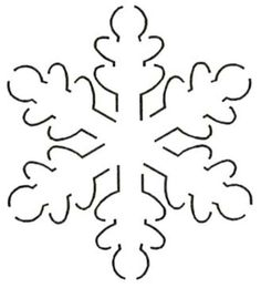Quilt Stencil Snowflake By Estes, Laura - Snowflake Block x continuous line stencil. Stencil is made of Mylar plastic with the displayed design cut into it. Snowflake Stencil, Snowflake Quilt, Snowflakes, Snowflake Pattern, Quilting Stencils, Quilting Templates, Quilting Designs, Christmas Applique, Felt Christmas