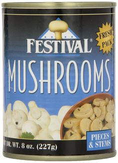 Festival Mushroom Pieces/Stems, Fresh Pack, 8-Ounce (Pack of 12) >>> Wow! I love this. Check it out now! : Fresh Groceries