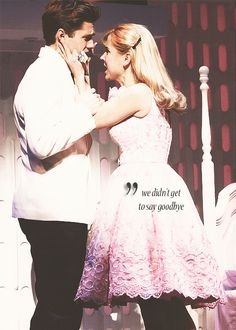 Kerry Butler and Aaron Tveit from Catch Me if You Can.