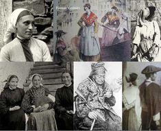 Con el traje tradicional Vasco