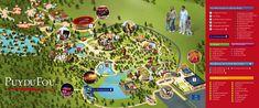 Plan du parc pour la saison 2015 (source : http://www.vendee-tourisme.com)