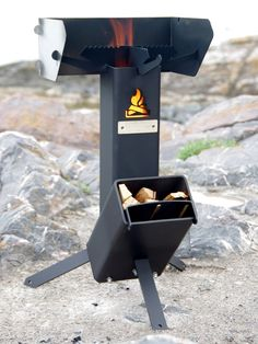 The Apostol Rocket Stove - Free Delivery to USA, Canada and Europe