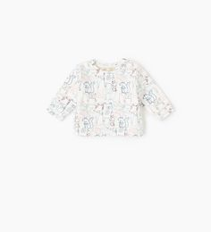 Animals sweatshirt-TOPS-MINI | 0-12 months-KIDS | ZARA United States